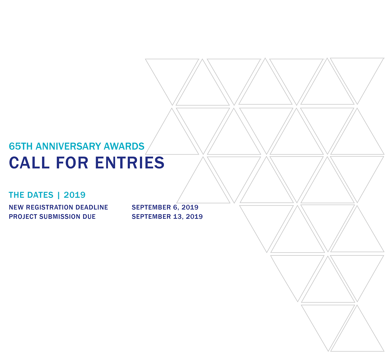 65th Anniversary Awards – Call for Entries